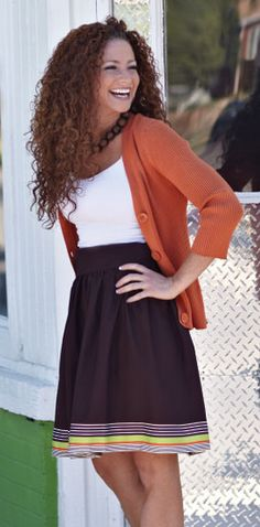 Free Simple A-line Skirt Pattern Download