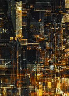 MEGA CITIES by atelier olschinsky , via Behance