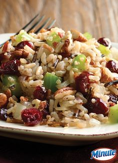 Cranberry Pecan Multi-Grain Stuffing: a delicious holiday dish that is quick and easy to make.