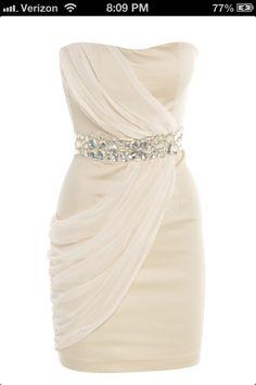 Getaway dress.
