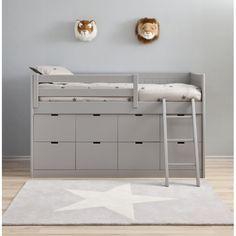 Block Bed BAHIA great storage under bed could create using ikea kura as base