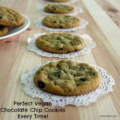 Make perfect vegan chocolate chip cookies every time. Plus tips everyone can use!