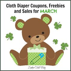 Thirsties Covers for $7.65, FREE Amber and More March 2014 Diaper Deals! #clothdiapers