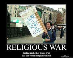 Religion, redskab til næstekærlighed, og ondhed.