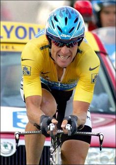 Lance Armstrong - Even though he is currently out of vogue, I still find Lance inspirational.