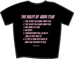 These are the rules of book club