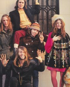 Janis Joplin with Big Brother and the Holding Company in San Francisco, 1967 photographed by Linda Eastman (McCartney)
