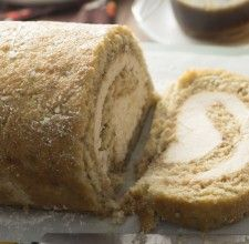 Banana Bread Cream Cheese Roll