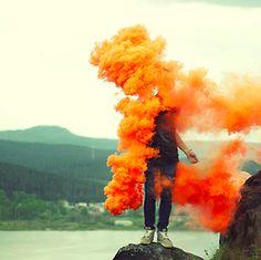 I love the color orange