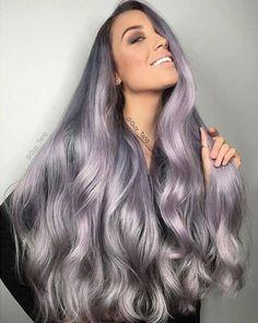 New hair long brown ombre guy tang ideas Hair Expo, Lilac Hair, Ombre Hair, Wavy Hair, Grunge Hair, Mermaid Hair, Blonde Color, Trendy Hairstyles, Modern Haircuts