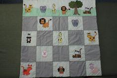 manta infantil  patchwork