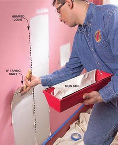 How to Paint Walls: Prepare Interior Walls for Painting  Fixes for the 8 most common drywall flaws