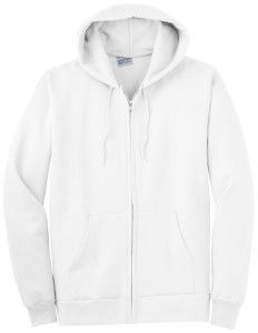 Plush White Zip Up Hoodie... #white #zip #up #hoodie #hoodies ...