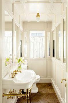 #Creative #bathroom Amazing Traditional Decor Style