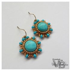 Beaded earrings | Flickr - Photo Sharing!