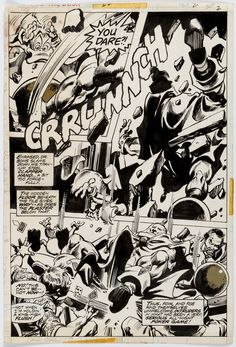 Gene Colan and Tom Palmer Howard the Duck #20 Page 2 Original Art | Lot #14031 | Heritage Auctions