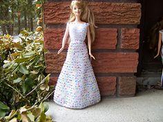 brownfrances' Miss Lorraine's Barbie Dress