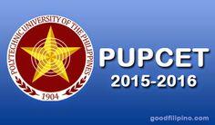 PUPCET Results 2015 Online (AY 2015-2016)