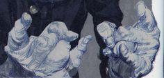 Tom Fluharty ' Stan Lee' from ILLUSTRATION ART
