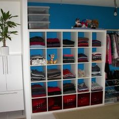 Shelving For Clothes Storage