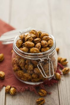Curry-Roasted Pistachios — an idea for all the leftover unsalted pistachios we have after making gelato
