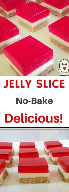 Delicious, pretty, easy, party worthy! You will love this slice