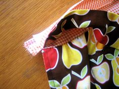 Lined apron tutorial
