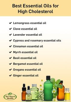 Best essential oils for high cholesterol reduction. #essentialoils #cholesterol