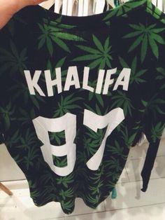 sweater wiz khalifa shirt khalifa 87 jersey long sleeve long sleeved weed 420 black white green lovely kalifa weed sweater weed leaf weed, k...