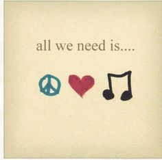 The best part of life, is the music we come to love ❤