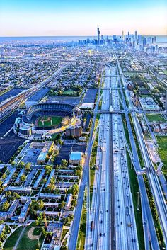 :: chicago :: aerial view