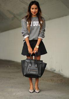 Street Chic: Skater Skirts