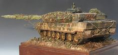 Modellours Workshop: Leopard 2A6 - Diorama of the Day