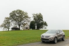 Road trip pro-tip: When the skies turn gray, keep the horizon clear with the available HID headlamps of the These headlamps last longer than conventional halogen bulbs, so your trip through the Blue Ridge Parkway won't be cut short. Lincoln Mkc, Blue Ridge Parkway, Bulbs, Motorcycles, Road Trip, Sky, Cars, Lightbulbs, Heaven