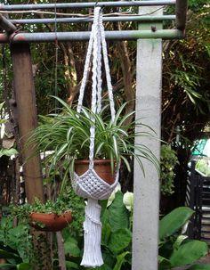 Items similar to Macrame Plant Hanger Basket 2 on Etsy Macrame Hanging Planter, Hanging Flower Pots, Macrame Plant Holder, Hanging Plants, Macrame Art, Macrame Design, Macrame Projects, Macrame Plant Hanger Patterns, Macrame Patterns