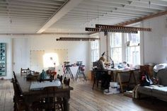 The workspaces of 120 creators are photographed for a new book exploring their methods.
