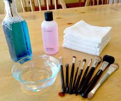 How To Clean Your Makeup Brushes Revisited!
