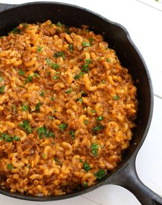 BEST Cheeseburger with homemade cheese (Hamburger Helper Copycat) – The Daring Gourmet Source by verdahl Macaroni Recipes, Casserole Recipes, Pasta Recipes, Dinner Recipes, Cooking Recipes, Healthy Recipes, Dinner Ideas, Budget Cooking, Supper Ideas