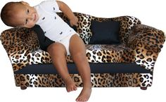 KEET Wave Kid's Sofa, Leopard ** Want to know more, click on the image. (This is an affiliate link) #EasyHomeDecor