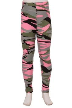 Girls and Kids Camo Leggings Leggings Sale, Cute Leggings, Girls In Leggings, Best Leggings, Printed Leggings, Camouflage Leggings, Pink Camouflage, Buttery Soft Leggings, Valentine's Day Outfit