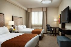 One of our double Queen Size guest rooms