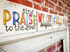 wood scripture signs for the home