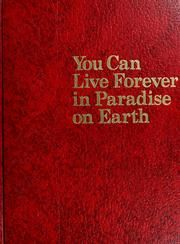 You Can Live Forever In Paradise On Earth~Jehovah's Witness study book