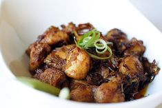 Lemongrass Chicken Recipe. Simply the most aromatic and delicious Asian chicken dish ever. So easy to make and no-fuss