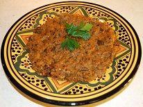 Zaalouk - Moroccan Eggplant Salad