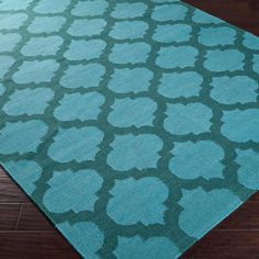 Ironwork Trellis Dhurrie Rug: 6 Colors  Hmmm how can I convince Mike that spending almost $300 bucks on a rug is ok?