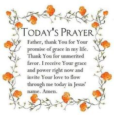 Todays Prayer Quotes Inspiration Pinjoshua Mspaulding On Prayer  Pinterest  Amen Faith And