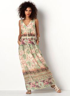 Tendencia 2015: Vestidos Largos Al Estilo Hippie | Vestidos Glam