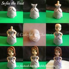 Pricess Sofia cake topper