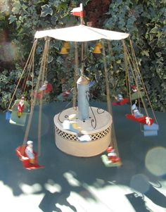 VIDEO 1900s Bing Gunthermann 15.5 inch clockwork musical carousel works Germany Classic Toys, Carousel, Musicals, Germany, Table Decorations, Home Decor, Decoration Home, Room Decor, Deutsch